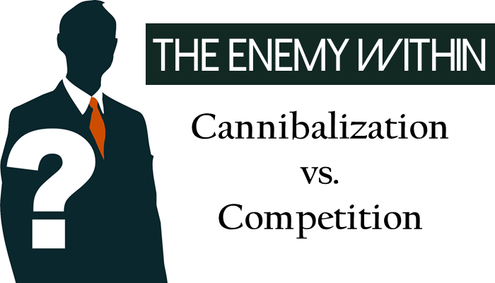 The Enemy Within: Cannibalization vs. Compeitition